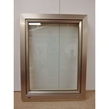 UPVC Window Tilt & TurnPine Double Glazed 975x1250mm FW003 (910x1195)