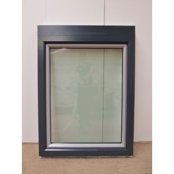 UPVC Window Tilt & Turn Aluminium Clad & Double Glazed 980x1320mm FW009