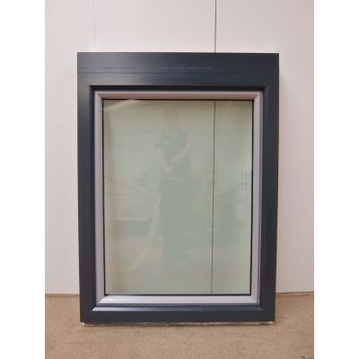 Tilt & Turn Window Aluminium Clad & UPVC 980x1320mm FW009 Double Glazed