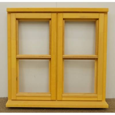 Wooden Timber Window Horizontal Centre Bar Casement Unglazed Jeld-wen 910x895mm