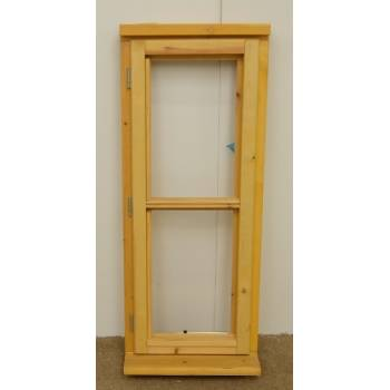 Wooden Timber Window Horizontal Centre Bar Casement Unglazed Jeldwen 483x1195mm