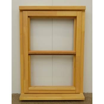 Wooden Timber Window Horizontal Centre Bar Casement Unglazed Jeldwen 625x895mm