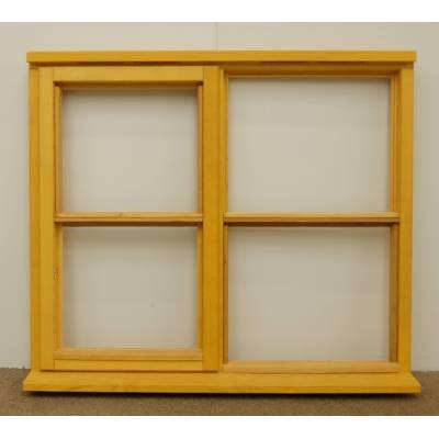 Wooden Timber Window Horizontal Centre Bar Casement Unglazed Jeldwen 1195x1045mm - Handing (externally viewed):