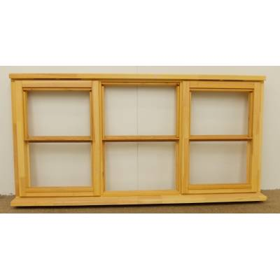 Wooden Timber Window Horizontal Centre Bar Casement Unglazed Jeld-wen 1765x895mm