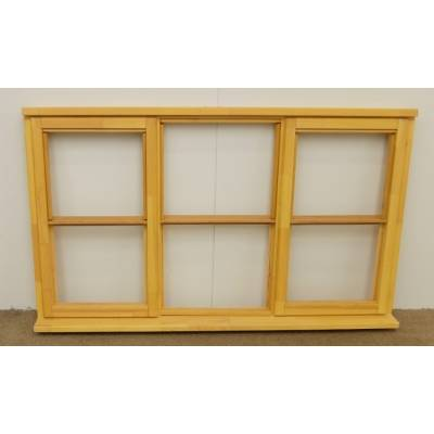 Wooden Timber Window Horizontal Centre Bar Casement Unglazed Jeldwen 1765x1045mm