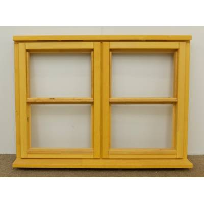 Wooden Timber Window Horizontal Centre Bar Casement Unglazed Jeldwen 1195x895mm