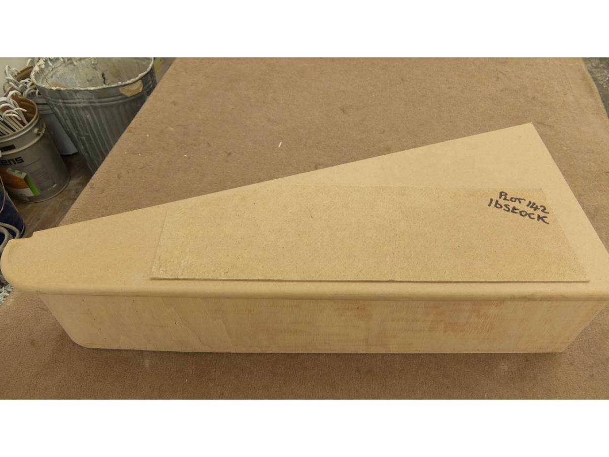 Stair Tread Riser Bullnose Staircase Wedge Kite Round Bottom Step Ply MDF  Stairs