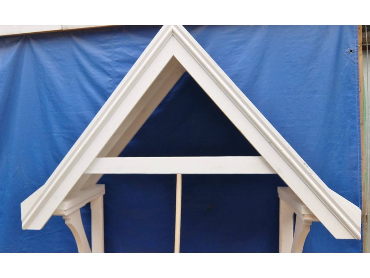 Door Canopy Porch Cover Rain Awning Timber Wooden Gallows Bracket CAN3 2175x1915 ... & Door Canopy Porch Cover Rain Awning Timber Wooden Gallows Bracket CAN3
