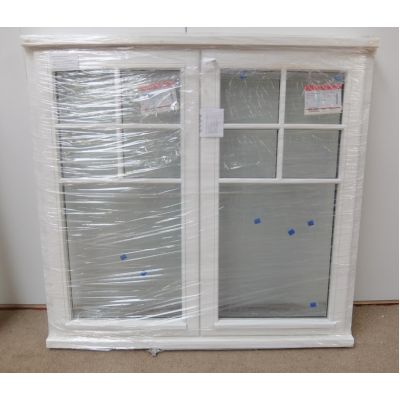 Wooden Timber Window Double Glazed Victorian Bar 1243x1195mm...