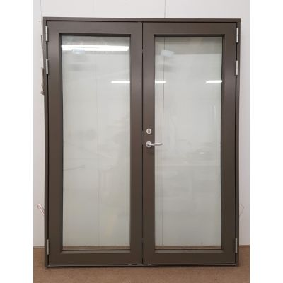 Timber French Door Aluminium Clad Wooden & Frame Triple ...