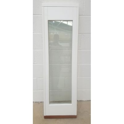 Wooden Timber Window Sidelight Glazed Frame External Patio W...