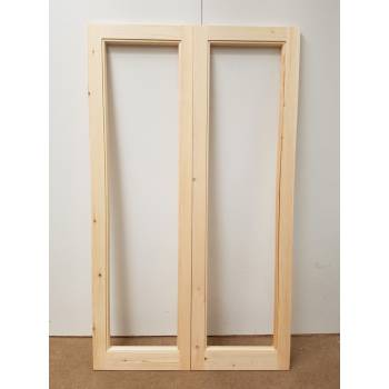 French Door Pair Timber Wooden Patt 20 Pine Bespoke Made To Measure Softwood