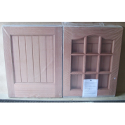 Hardwood Stable Door 9 Light M&T 50/50 M/B Wooden Timber