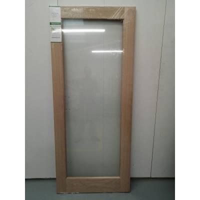Derwent Oak Glazed Internal Door 78x33 Wooden Timber 1981x83...
