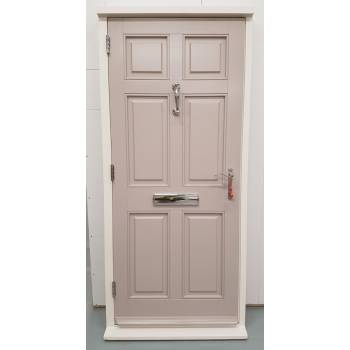 Sapele Colonial Doorset 945x2090mm