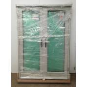 Timber French Doors External Pairs Grey Finished Wooden 1475x2090mm (1490x2090)