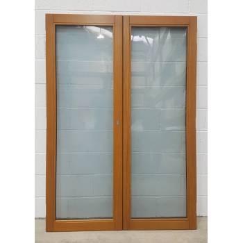 1395x1988mm Oak French Doors JWD17 - Finished