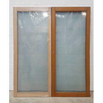 1695x1988mm Oak French Doors MIXED FINISH JWD15