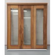 Hardwood Folding Sliding Bifold Trifold French Patio External Doors 1.8m 6ft