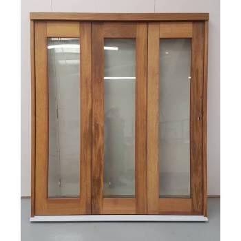 1794mm Unfinished Hardwood Trifold