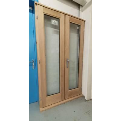 Wooden Timber Oak Rio French Doors Patio External Glazed 119...