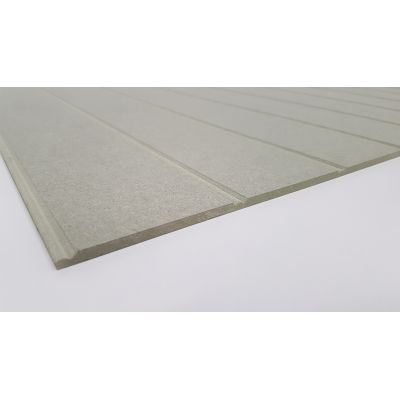 Wall Panelling MDF Beaded Bead and Butt Panel Cladding 6mm M...