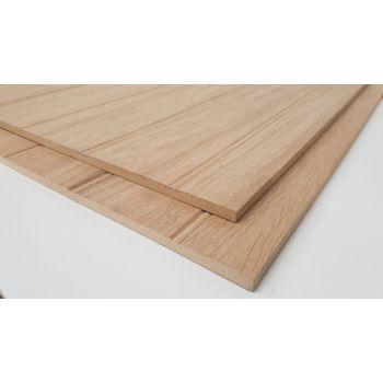 Oak MDF Wall Panelling
