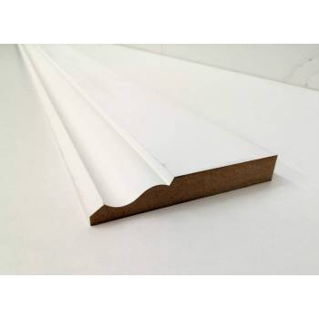 120mm Ogee MDF Skirting