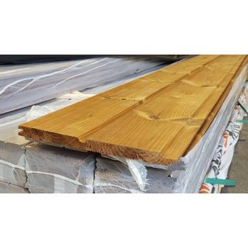 Shiplap 130x20mm Thermowood