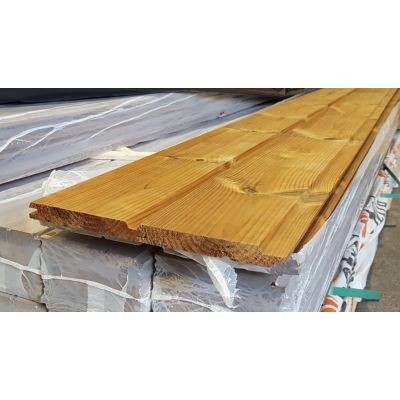 Shiplap Timber Thermowood T&G Board 130x19mm Cladding Sh...