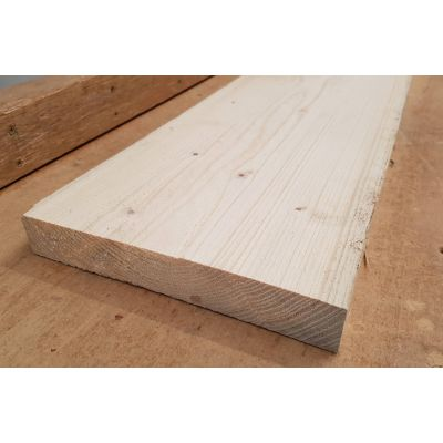 Wide Timber Length Sawn Softwood Boards 3.5m 38x225mm 9x1½&...