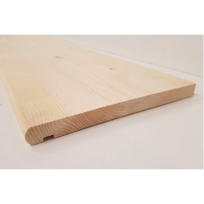 Pine Stair Tread  265x22mm Bullnosed Windowboard Nosing Timb...