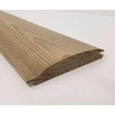 Loglap Timber Pine Softwood T&G Log Lap Board 99x20mm Cl...