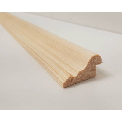 Dado Rail Rebated Softwood Timber Pine Trim Bead Moulding Wo...