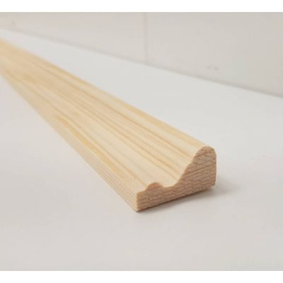 2.4m 29x16mm Trim Bead Moulding Timber Pine FB219 Wooden Tim...