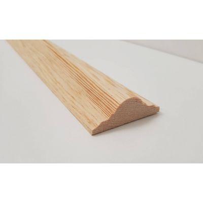 2.4m 57x19mm Dado Rail Timber Pine FC161 Burbidge Wooden Tim...