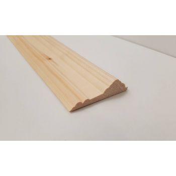 2.4m 69x19mm Dado Rail Timber Pine FC163 Richard Burbidge Wooden Timber