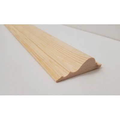 2.4m 70x20mm Dado Rail Timber Pine Wooden Timber Decorative ...