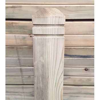 4 Way Decking Newel Post