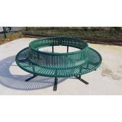 Bench Seat Garden Round Outdoor Circular Ring School City Town Public Park