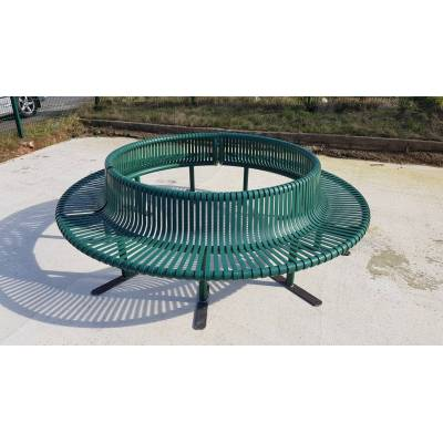 Bench Seat Garden Round Outdoor Circular Ring School City To...