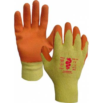 Orange Latex Palm Gloves