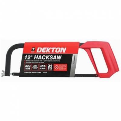"Heavy Duty Hacksaw 300mm 12"" 24TPI Blade Dekton..."