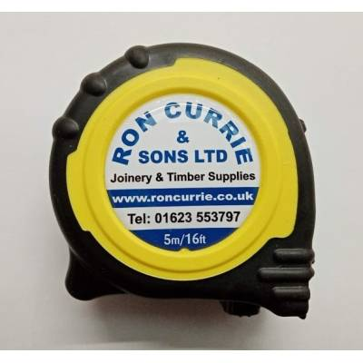 Ron Currie Tape Measure 5m...