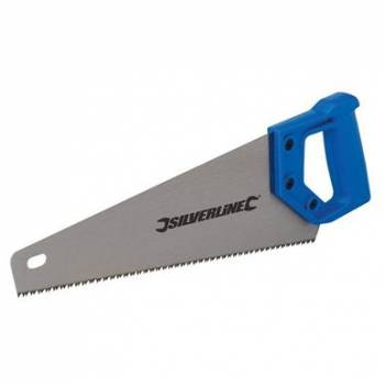 Silverline 350mm Long Hardpoint Hand Saw Handsaw