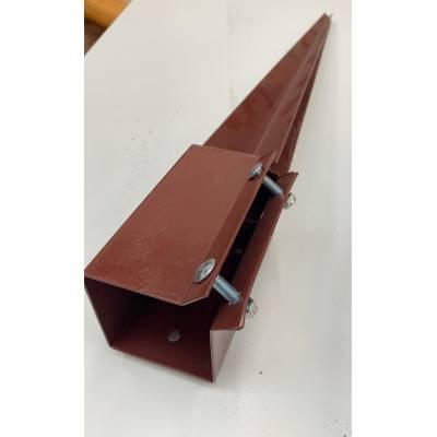 Fence Post Brackets Holders Metpost Powapost Shoe Spike 75mm...