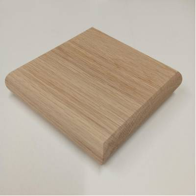 Oak Flat Patrice Cap 110x110x27 For 89x89 Stair Newel Post T...