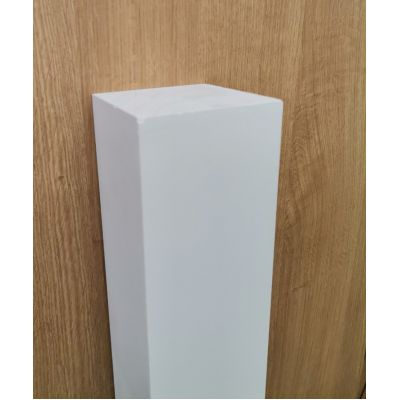 Primed Square Pattress Newel Post Stair Wooden Timber Blank ...