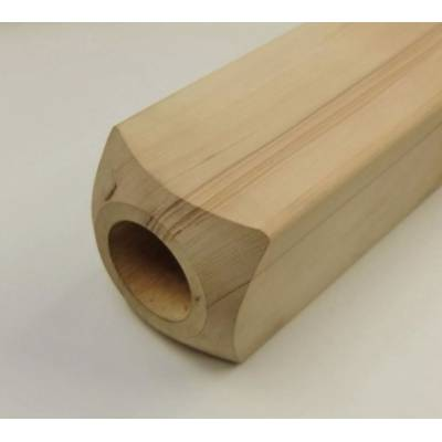 Hemlock Newel Base 89x89mm 615mm or 915mm Wooden Timber Stai...