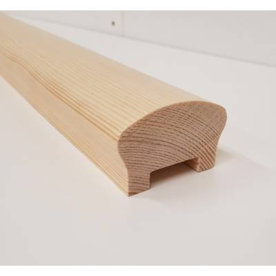 Pine Handrail Crown Stair 32mm Timber Wooden Bannister Balus...